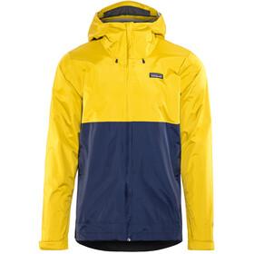 Patagonia Torrentshell Miehet takki , keltainen/sininen